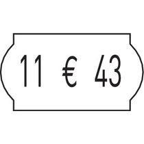 Etiketten tbv prijstangen