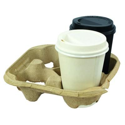 Drinkbekers en wegwerptasjes