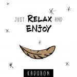 Kadobon just relax 12 x 12cm - Per 12-Divers..